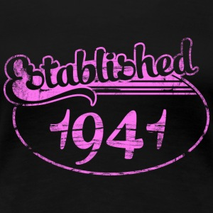 established 1941 dd (fr) Tee shirts - T-shirt Premium Femme