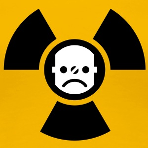 Atomstrom nein danke | against nuclear electricity | smiley T-Shirts - Frauen Premium T-Shirt