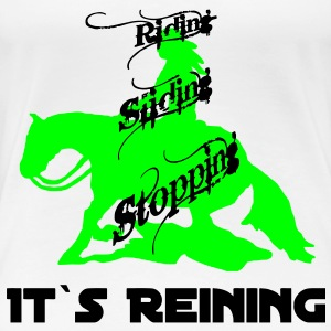 riding_sliding_stopping T-Shirts - Women's Premium T-Shirt