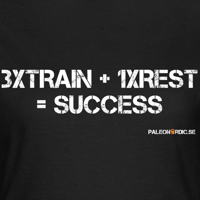 3XTRAIN+1XREST=SUCCESS DAM