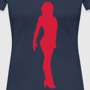 bodybuilding fitness11 femme trace dessi Tee shirts - T-shirt Premium Femme
