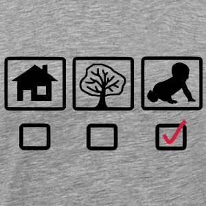 house_tree_child5 - Männer Premium T-Shirt