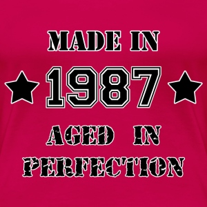Made in 1987 T-shirt - Maglietta Premium da donna