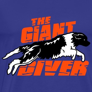 Newfoundland BW - giant diver - T-shirt Premium Homme