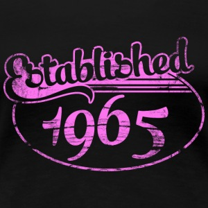 established 1965 dd (es) Camisetas - Camiseta premium mujer