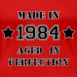 Made in 1984 T-shirts - Vrouwen Premium T-shirt