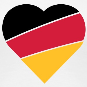 Love Germany - Frauen Premium T-Shirt