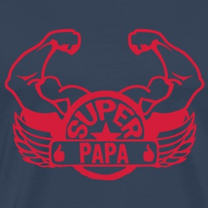 logo super papa aile bras muscle 3072 Tee shirts - T-shirt Premium Homme