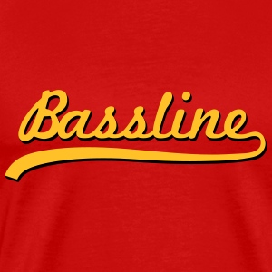 Bassline / Dubstep / Techno / Bass  T-Shirts - Men's Premium T-Shirt