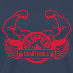logo super comptable aile bras muscle 3 Tee shirts - T-shirt Premium Homme