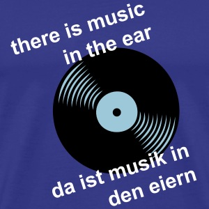 music in the ear - Männer Premium T-Shirt