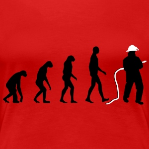 Evolution Firefighter T-Shirts - Frauen Premium T-Shirt