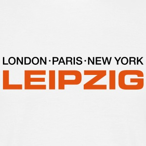 london paris new york leipzig i love leipzig i love new york T-Shirts - Männer T-Shirt