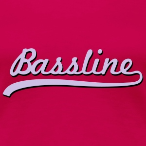 Bassline / Dubstep / Techno / Bass  T-Shirts - Women's Premium T-Shirt