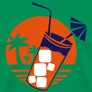 Cocktail Sunset T-Shirts - Männer Premium T-Shirt