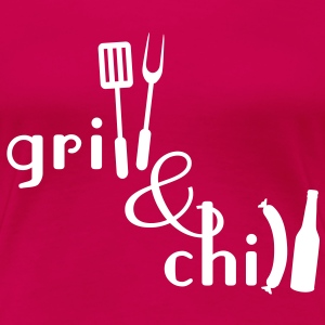Grill and Chill T-Shirts - Frauen Premium T-Shirt