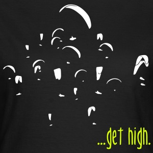 paragliding ...get high! T-Shirts - Frauen T-Shirt