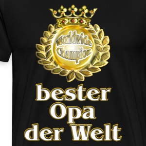 suchbegriff bester opa t shirts spreadshirt. Black Bedroom Furniture Sets. Home Design Ideas