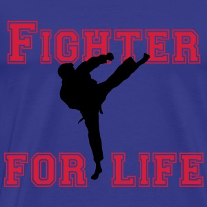 fighter for life T-shirts - Mannen Premium T-shirt