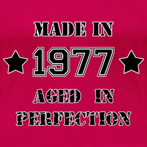 Made in 1977 Tee shirts - T-shirt Premium Femme