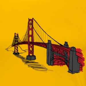 goldengatebridge T-Shirts - Frauen Premium T-Shirt