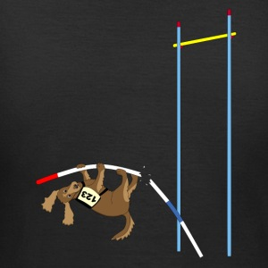 Pole vault  dog T-Shirts - Women's T-Shirt