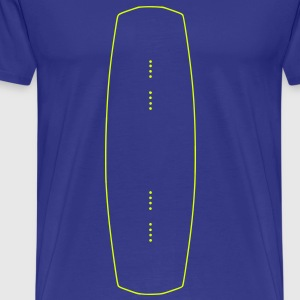 I love my wakeboard, wakeboarder, wakeboarding, kiteboarding, skateboarding, snowboarding, skiing - Men's Premium T-Shirt