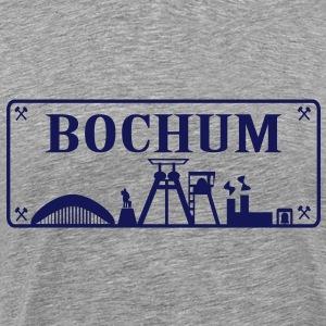 Schild mit Bochumer Skyline