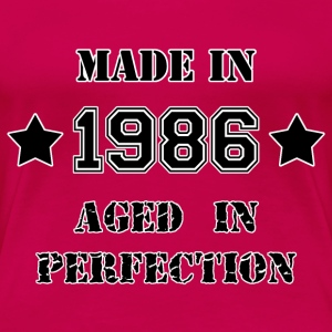 Made in 1986 T-Shirts - Women's Premium T-Shirt