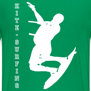 Kite Surfer - Men's Premium T-Shirt
