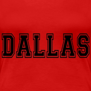 Dallas T-Shirts - Frauen Premium T-Shirt