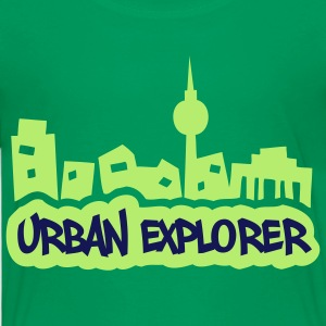 Urban Explorer - 2colors - 2011 Shirts - Kinderen Premium T-shirt