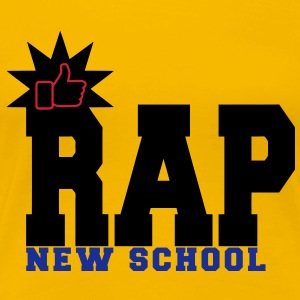 rap new school T-Shirts - Women's Premium T-Shirt