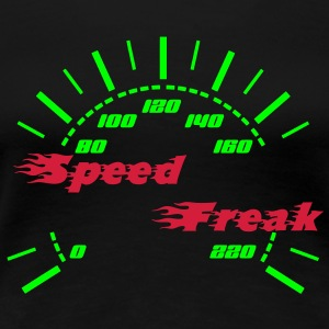Speed Freak Tachometer T-Shirts - Frauen Premium T-Shirt