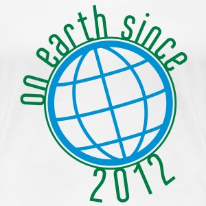 Birthday Design - (thin) on earth since 2012 (uk) T-Shirts - Women's Premium T-Shirt