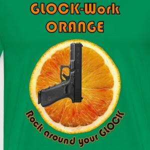 GLOCK-Work Orange - Männer Premium T-Shirt