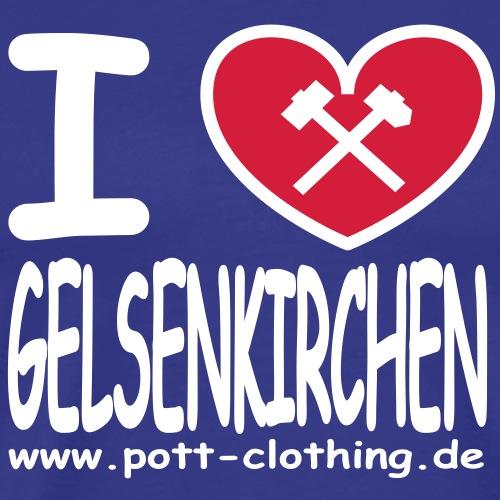 I love Gelsenkrichen - Hammer & Schlägel by Ruhrpott Clothing