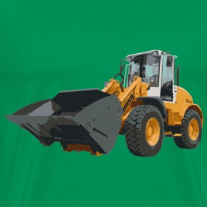 wheel loader - Men's Premium T-Shirt