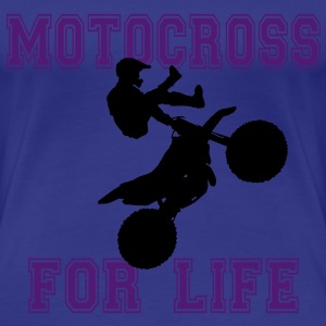 motocross for life T-shirts - Premium-T-shirt dam