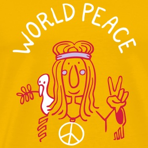 World Peace T-Shirts - Männer Premium T-Shirt
