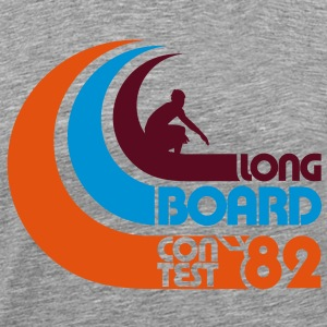 Surfing Longboard Contest 82  - Men's Premium T-Shirt