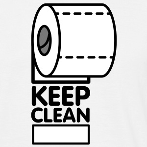 Keep Clean Role T-Shirts - Men's T-Shirt