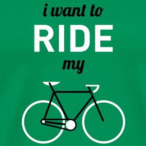 I want to ride my bicycle T-Shirts - Männer Premium T-Shirt