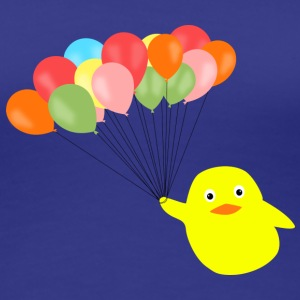 ballon_chick T-shirts - Frauen Premium T-Shirt