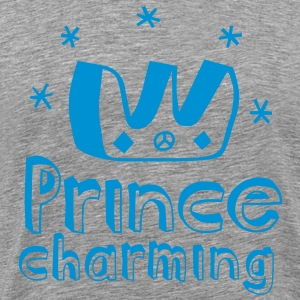 Funny Prince Charming for i love stag do birthday valentines day t-shirts T-Shirts - Men's Premium T-Shirt