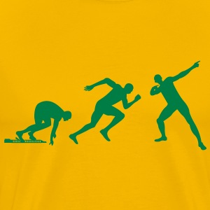 Usain Bolt Evolution Shirt - Men's Premium T-Shirt