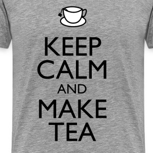 Keep calm & make tea t-shirt - Men's Premium T-Shirt
