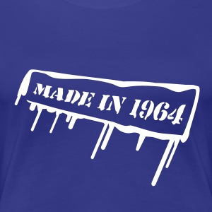 made_in_1964 T-shirts - Dame premium T-shirt
