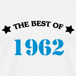 The best of 1962 T-shirt - Maglietta Premium da uomo