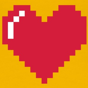 Pixel Love - Frauen Premium T-Shirt